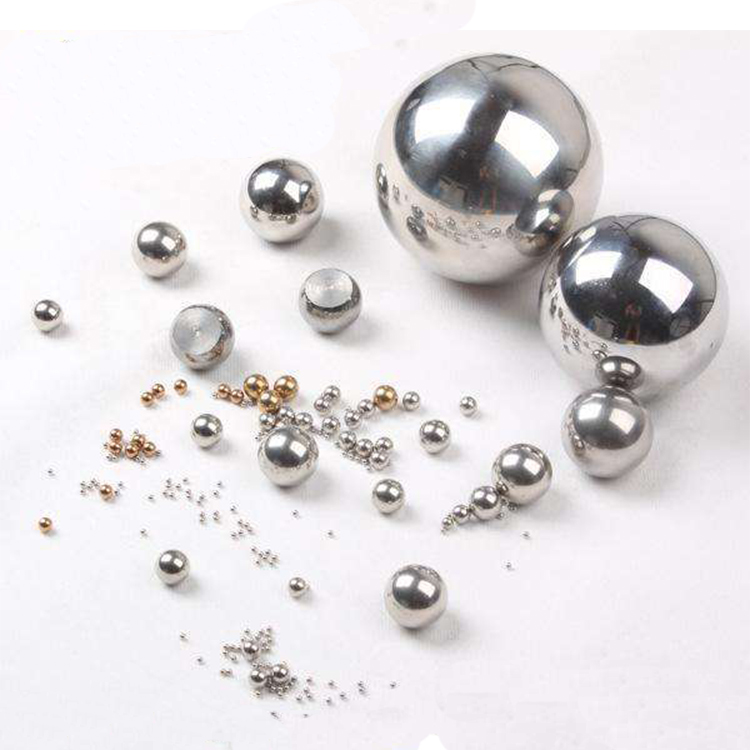 Gcr15 deep groove bearing steel balls, solid grinding chrome bearing balls for sale
