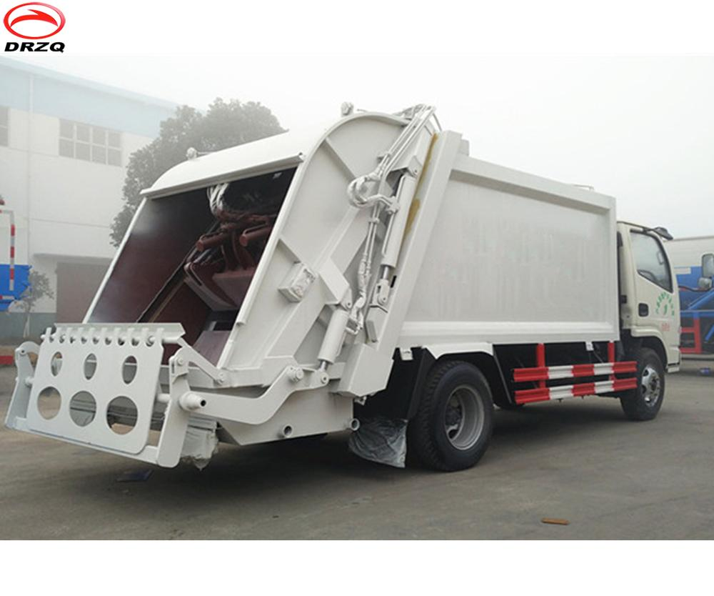 Most popular 7cbm Dongfeng brand new compactor garbage truck for sale