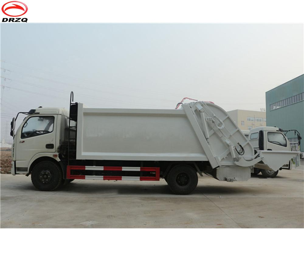 Best selling and popular 7cbm Dongfeng compactor garbage truck for sale 1