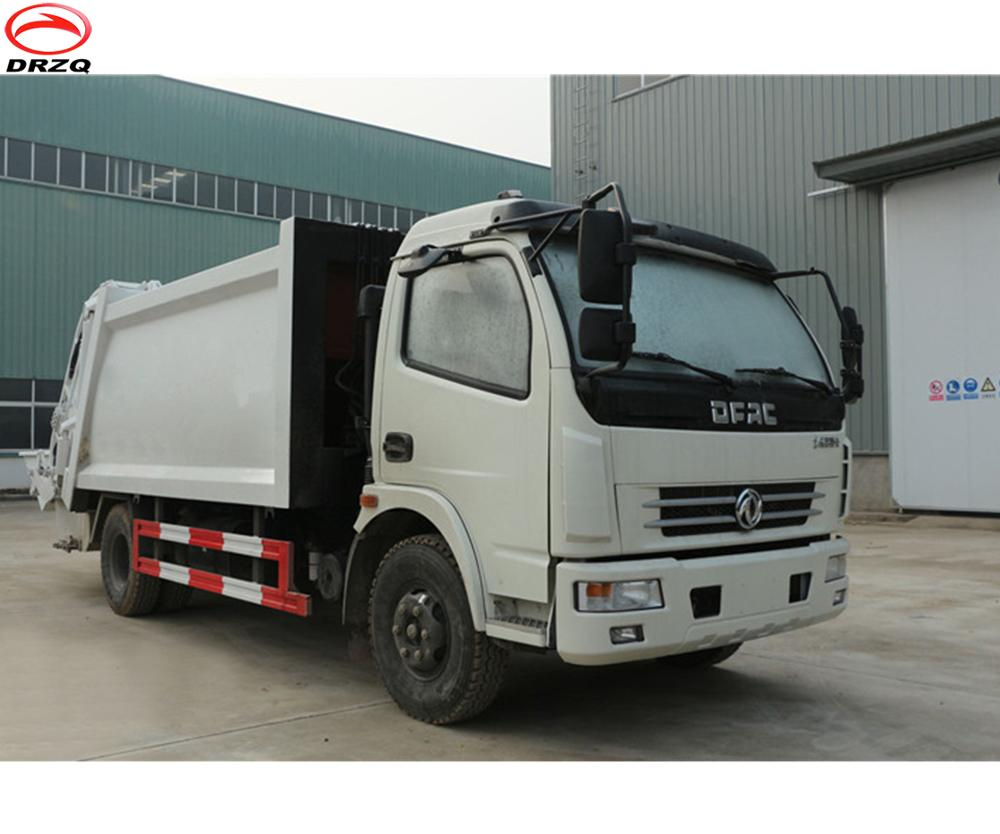Well sold 7cbm Dongfeng compactor garbage truck for sale