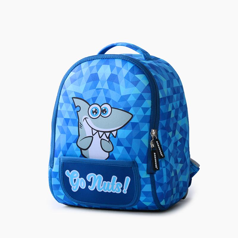 SUPERCUTE Designer Neoprene Cartoon Waterproof Toddler Kids Backpack Kokonuzz GO NUTS Series for sale