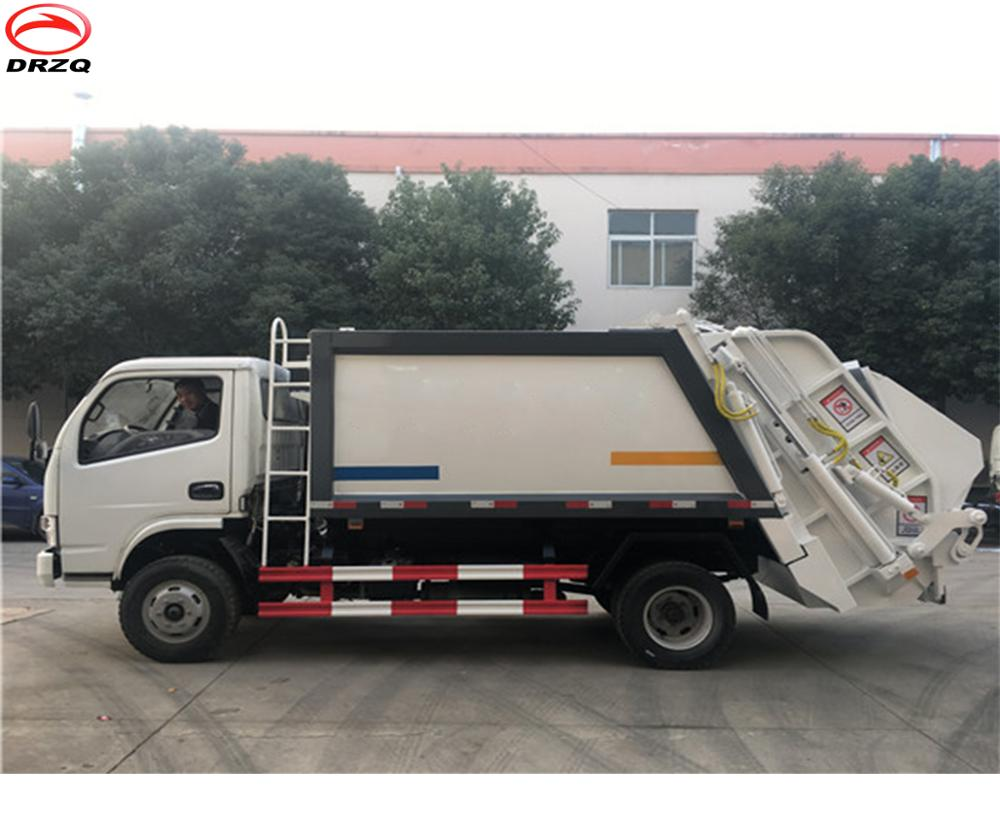 New 5 cubic meters garbage truck for sale