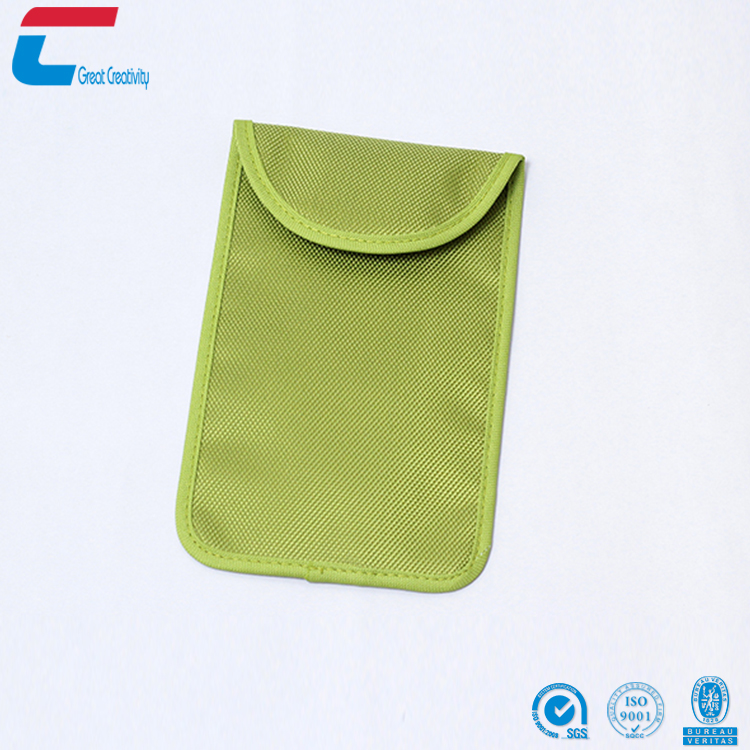 Customized Durable Cloth Material RFID Blocking Slim Credit Card Holder Wallet/Key Bag for Men for sale