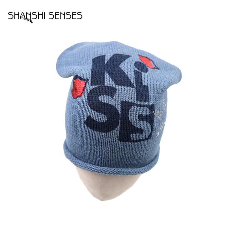 Women beanie knit hat