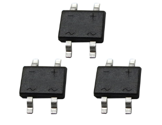 Electronic Components 1A 1000V Bridge rectifier Diode MB10S Sale