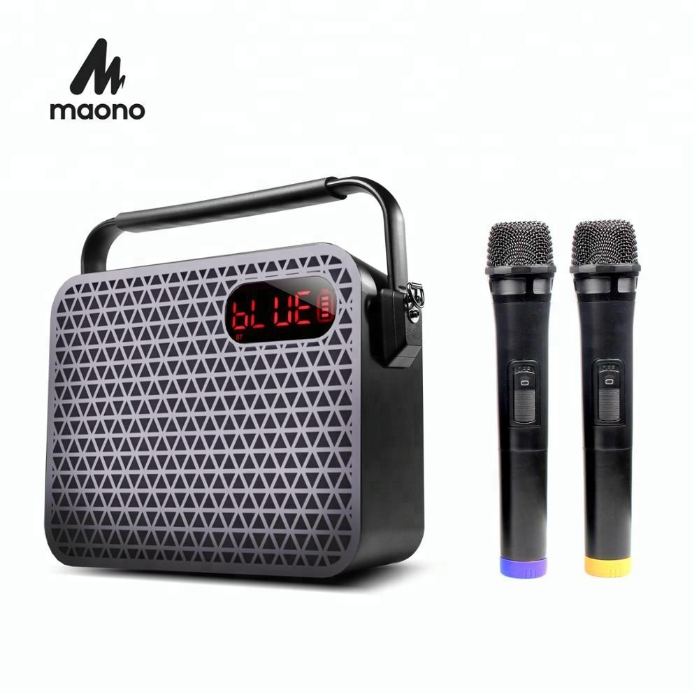 Hot sale VHF TF card reader wireless microphone usb receiver sale