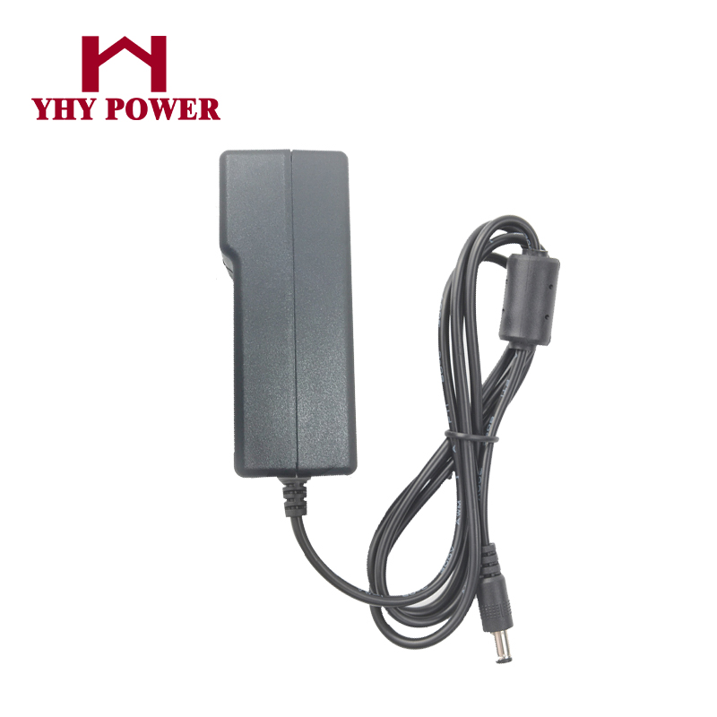Wall Plug / Interchangeable Type 50W 60W DC output 24 volt adaptor 24V 2000ma 2500mA ac dc adapter power supply 24vdc 2a 2.5a for sale