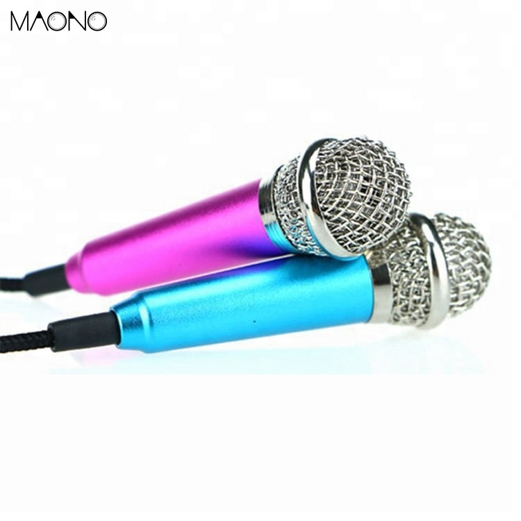 Popular omnidirectional dynamic mini mobile microphone sale
