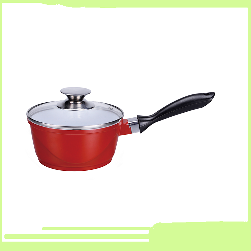 OEM round shape tempered glass pot lid for die-casting aluminum nonstick stockpot for sale