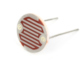 Epoxy encapsulated light control ldr 20mm 220v resistor with resistance 50-100kohm sale