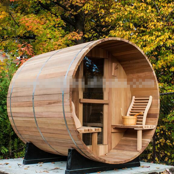 New Design Fashionable Outdoor Barrel Sauna Room For Sale