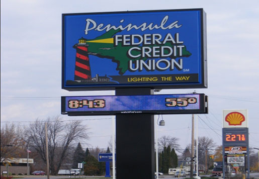 LED Message Sign