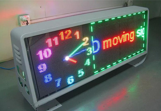 LED Taxi Top Sign