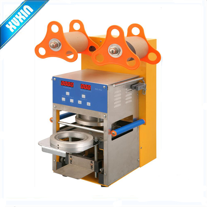 F08 95mm Intelligent Fully automatic cup sealing machine capper capping machine seamer