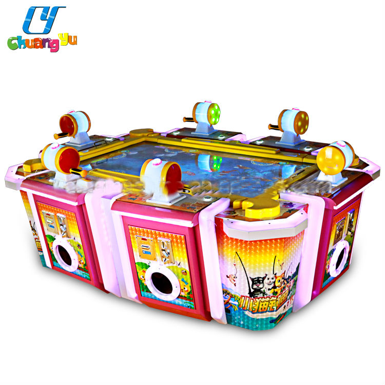 CY-CM30 Coin Operated Amusement 6 Players Kids Shooting Electronic Aecade Fishing Game Machine