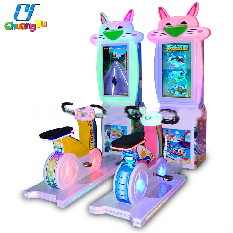 CY-CM42 Indoor Coin Operated Simulator Speed Bike Arcade Video Games Car Racing Games Machine