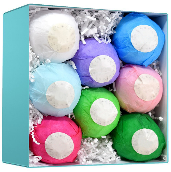 hot sale Luxurious FDA Private Label Essential Oil geode bath bombs for sale