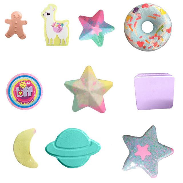 Bulk wholesale Colored oem animal shaped bath fizzer for kids for sale