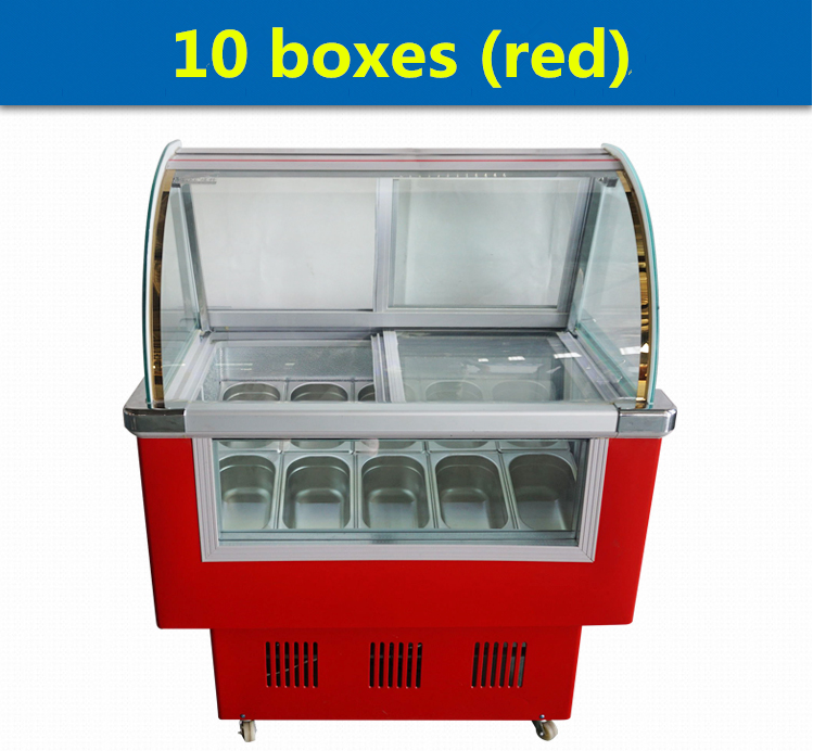 LK-1.0BDQ commerical ice cream display case/ice cream display showcase/ice cream display cabinet