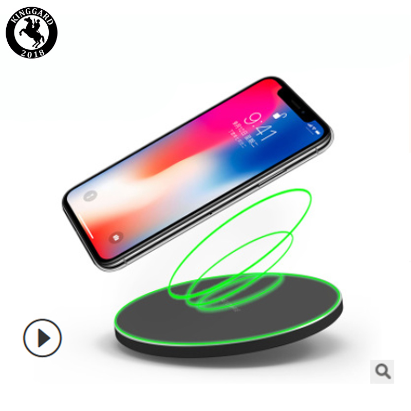 factory wholesale round qi wireless charger for phone sale