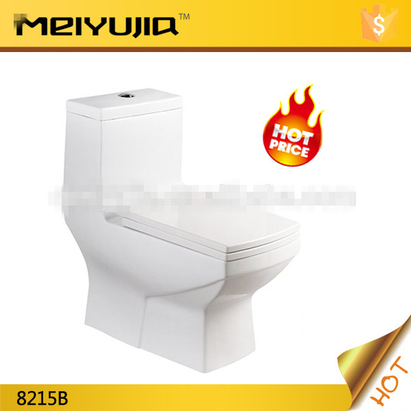 middle east S trap 250 washdown one piece square toilet for selling For Sale