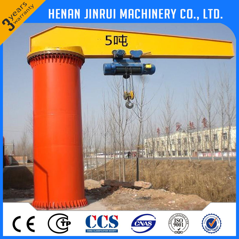 BZ Model Column Mounted Slewing Jib Crane Price for sale