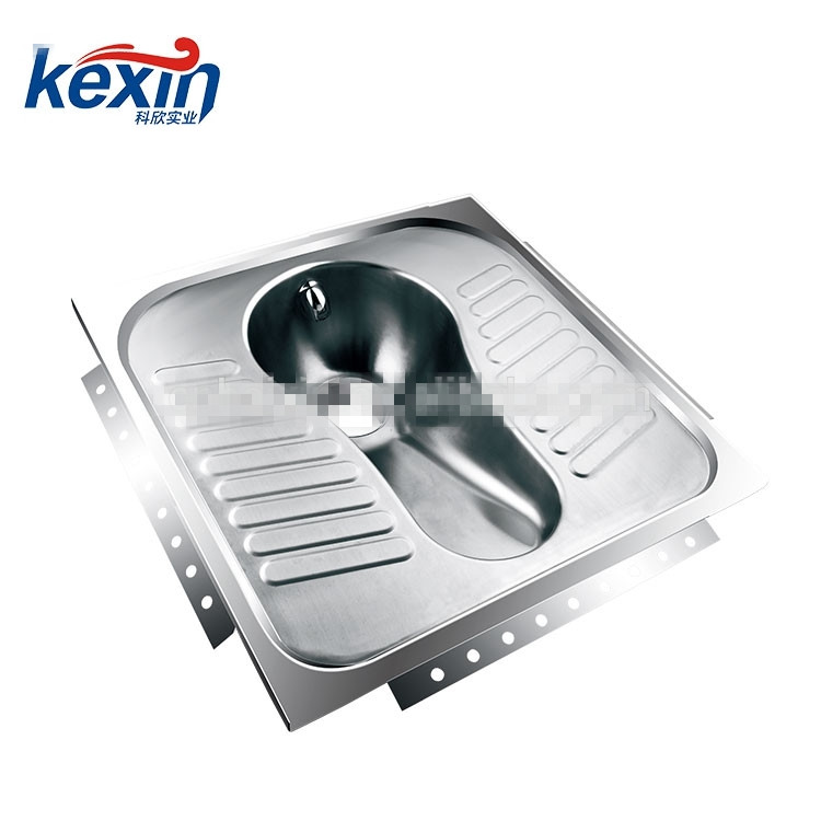 Hot Selling Good Quality Toilet Stainless Steel Squat Pan For Sale