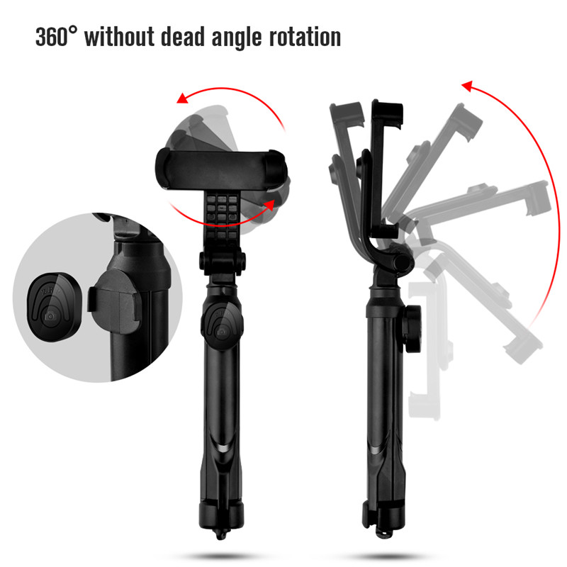 HAISSKY Retractable Tripod 360 Rotation Remote controlled Selfie Stick sale