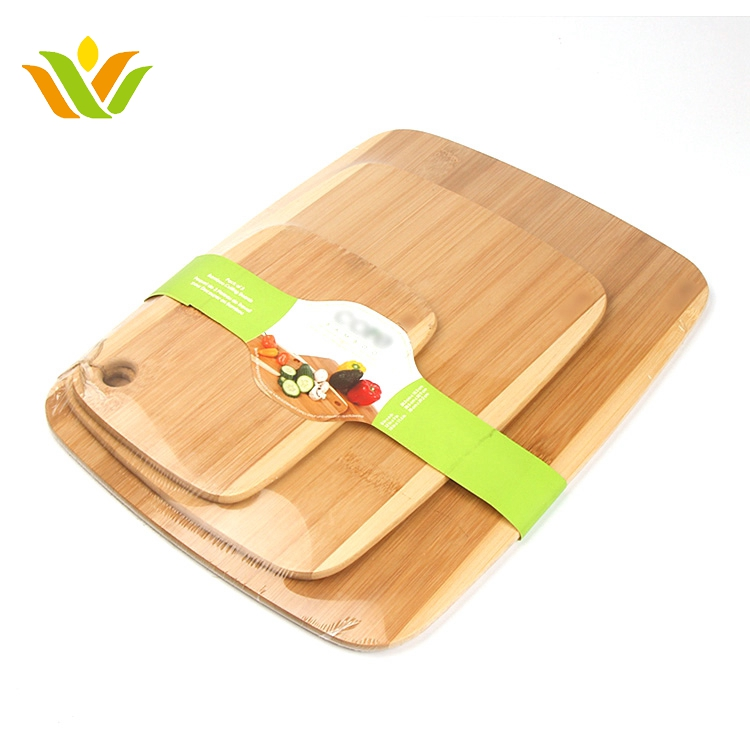 custom private label organic bamboo kitchen blank meat cutting board for sale