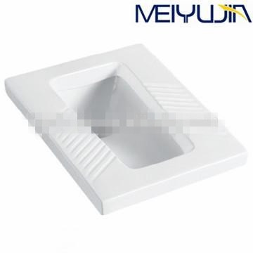 hotel white ceramics material squatting indian toilet pan price by china made For Sale