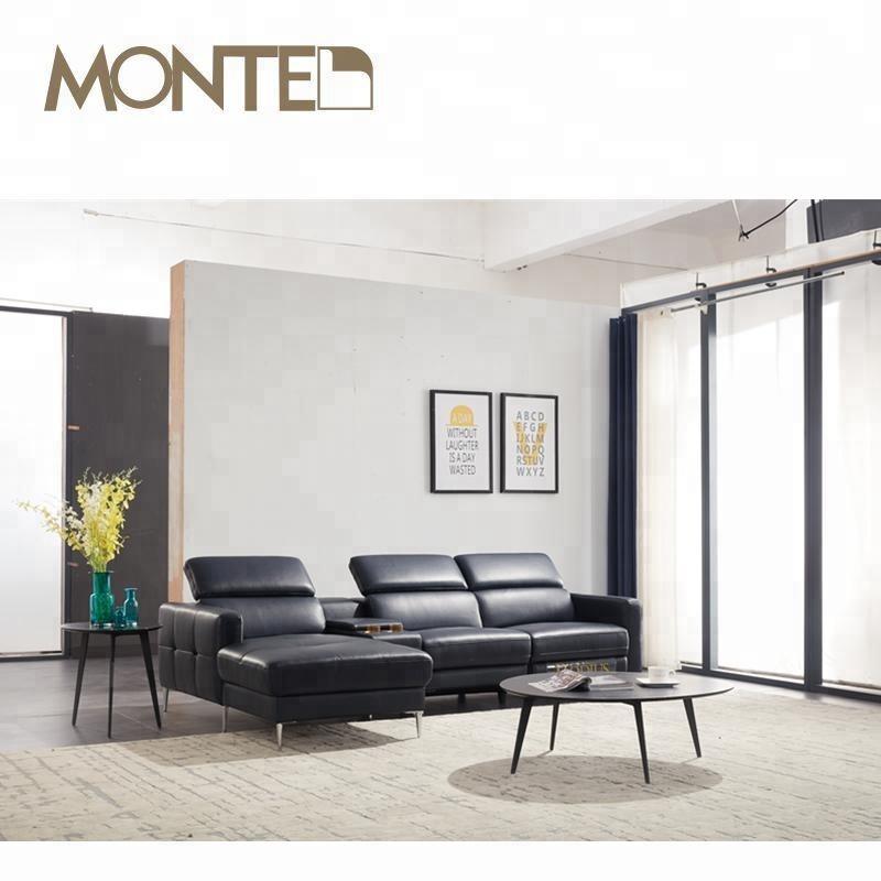 oval semi circle leather italian sofa