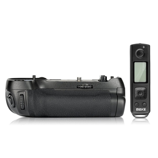 MK-D850 Pro Vertical Shooting Power Pack Battery Grip with 2.4G Hz Wireless Remote Control for D850 Camera sale