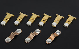 Exported High Quality Flat Head Solid electric contact Rivet Sale