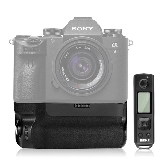 MK-A9PRO Battery Grip 2.4GHz Remote Controller Vertical-shooting Function for A9 A7RIII Camera sale