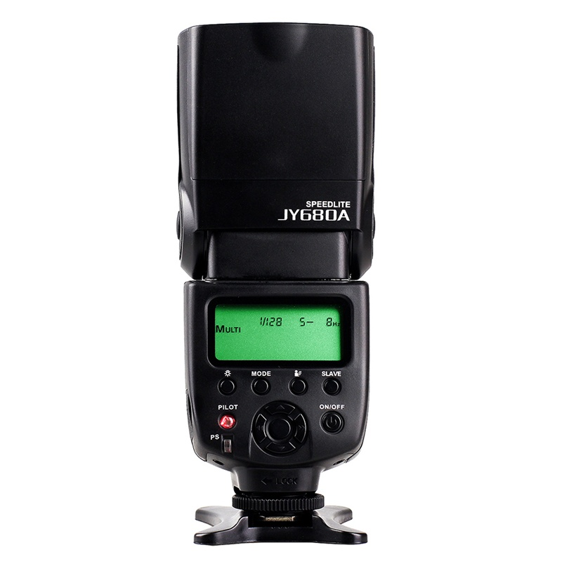 Manual SLR Camera Flash Lights/Speedlite VILTROX JY-680A Speedlight Studio Light for 5d mark iii Studio Flash sale