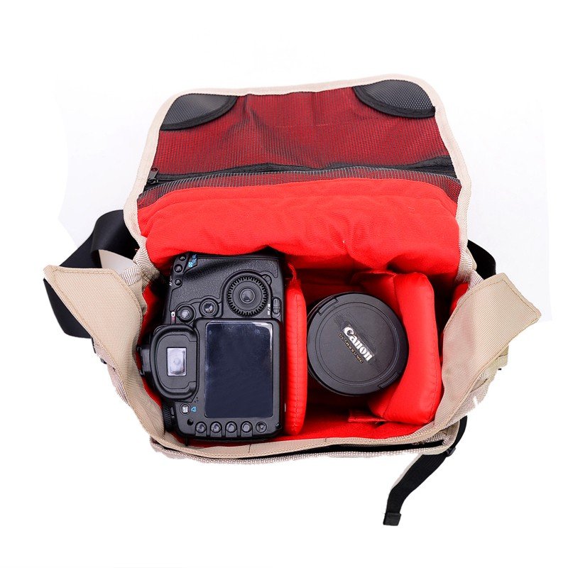 Shockproof Waterproof DSLR SLR Camera Bag Case Padded Camera Insert Make Your Own Camera Bag