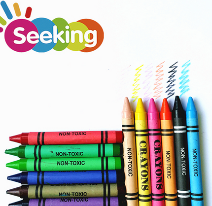 12 colors washable crayon