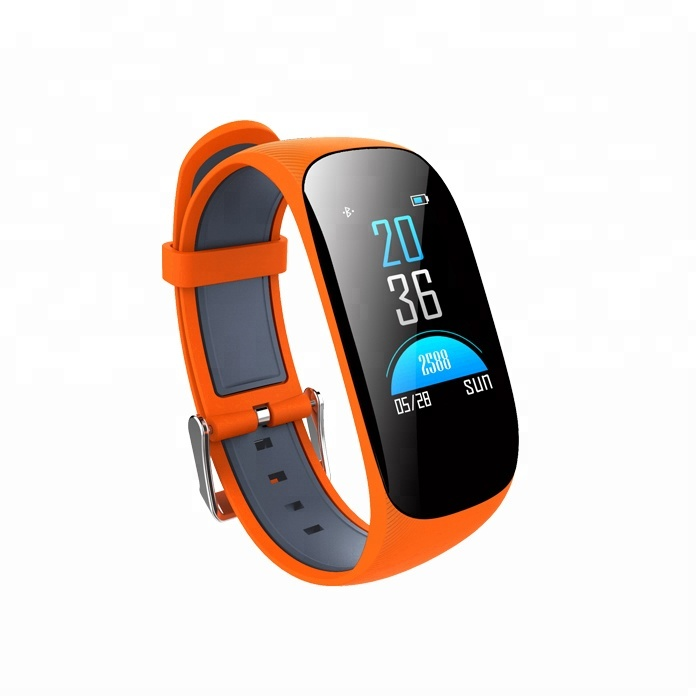 New IPS Color Screen Z17 Heart Rate Monitor Smart Band sale