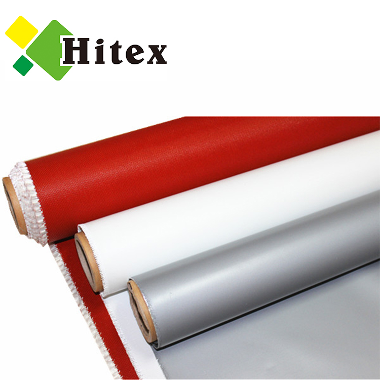 Silicone rubber coated fiberglass fabric cloth