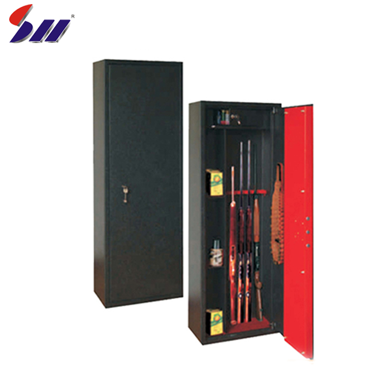 Wholesale hot-rolling steel electronic gun safety vault safe box