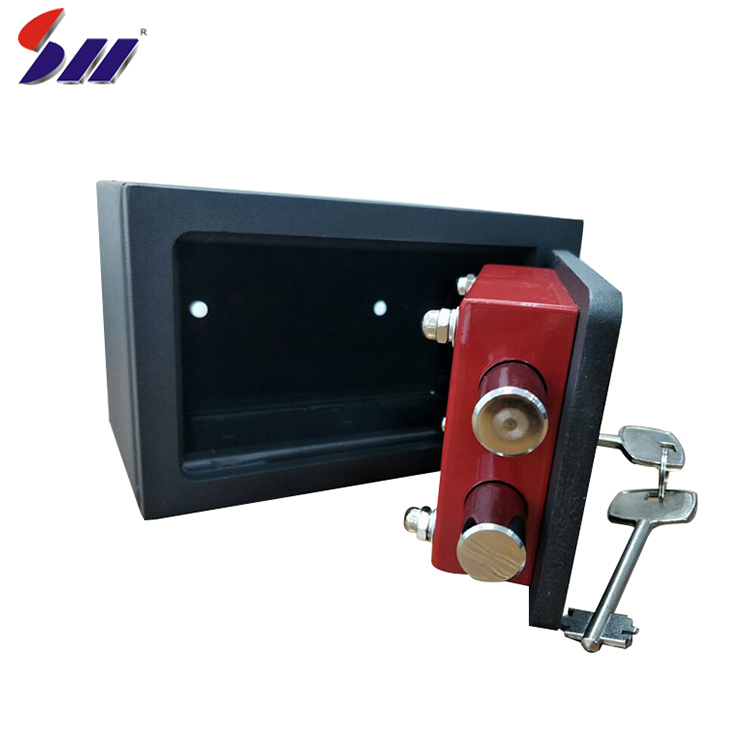High quality hotel steel safe body mechanical lock commercial safe box for sale