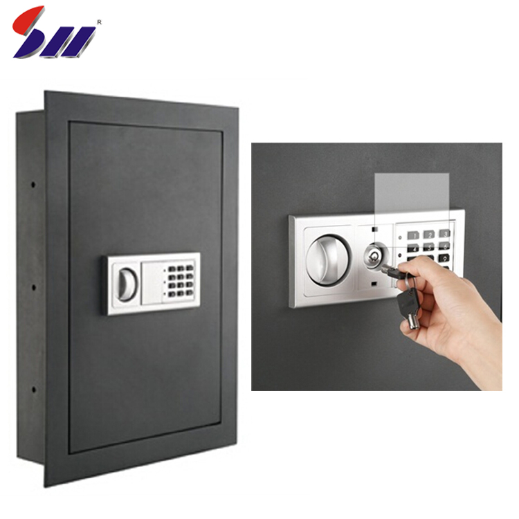 Wholesale Simple Programmable Electronic Lock Usage Inside Flat Electronic Wall Safe