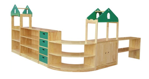 children wooden toy storage cabinet for sale