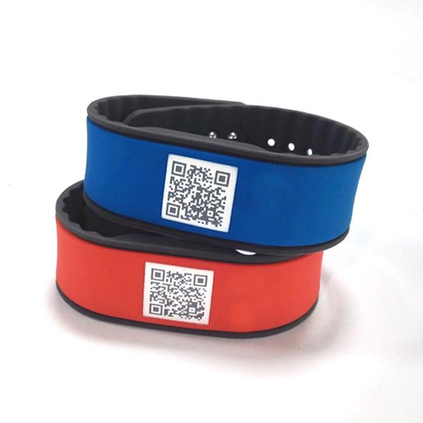 CXJBP12 nfc silicon rfid silicone wrist adjustable qr code silicon band price nfc silicone wristbands rfid wristband