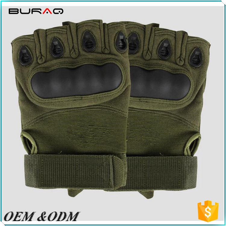 New Police hard knuckle tactical gloves