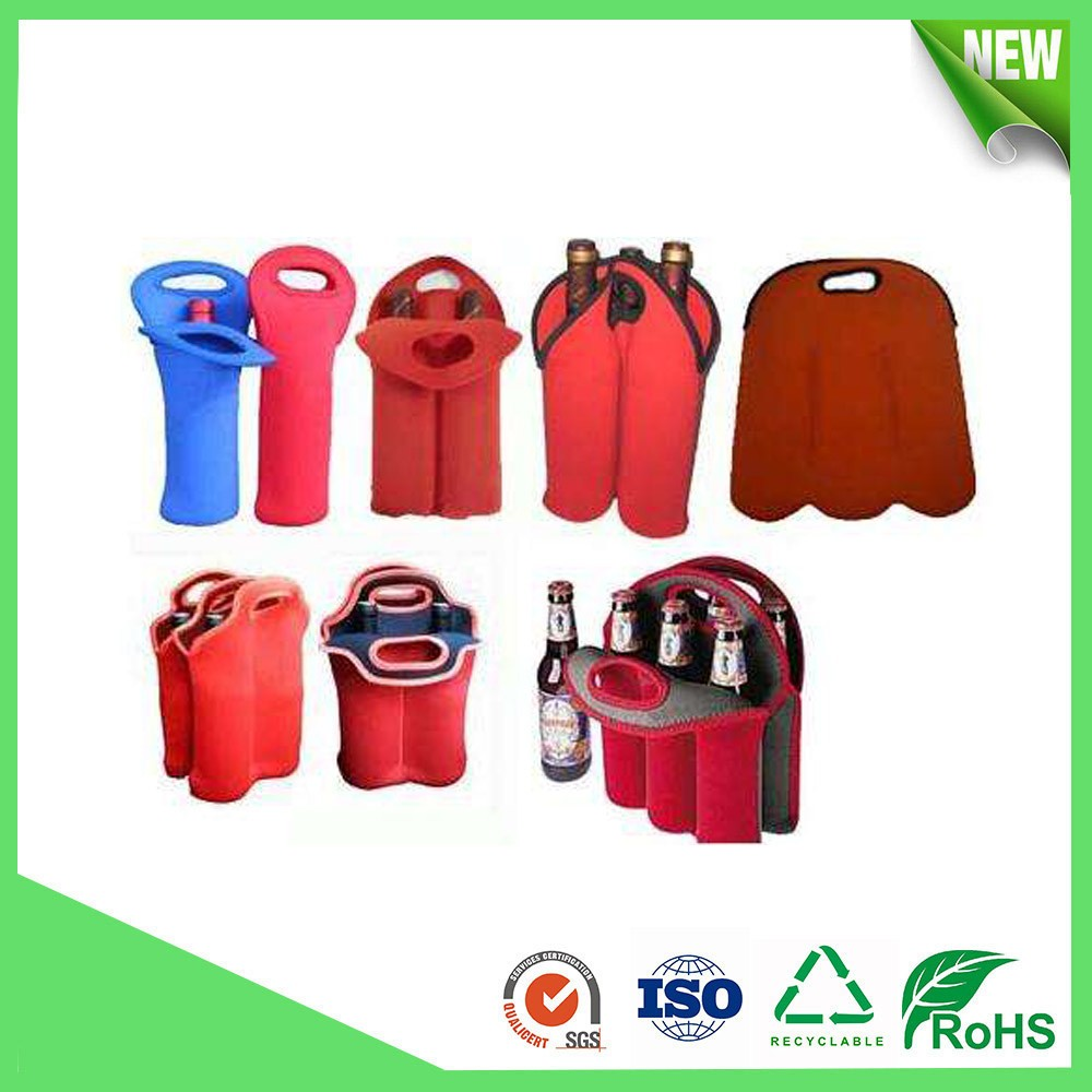 750ml Neoprene Wine Bottle Cooler bag for sale