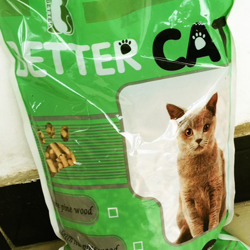 100% Natural Pine Wood Activated Carbon Cat Litter for sale