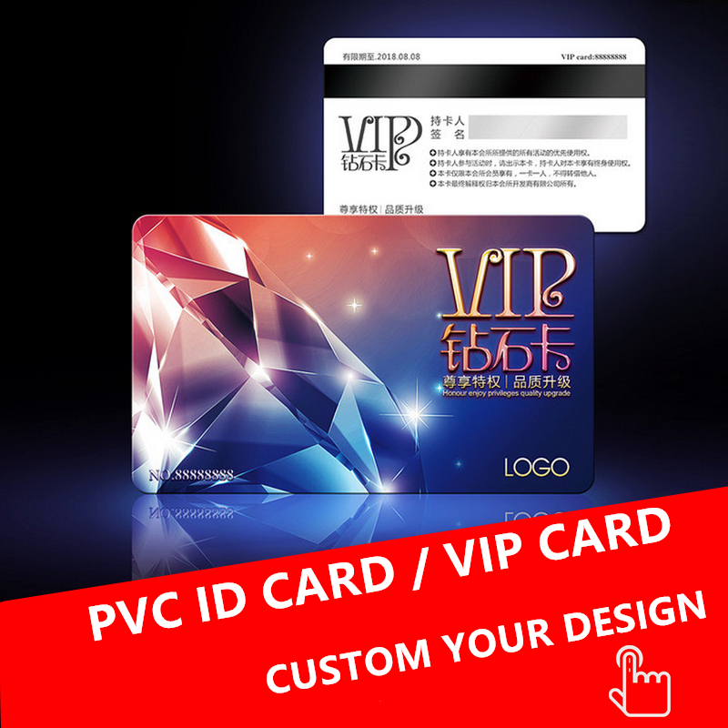 CR80 Standard Size Printing Plastic Card/PVC Cards/Plastic Card for membership sale