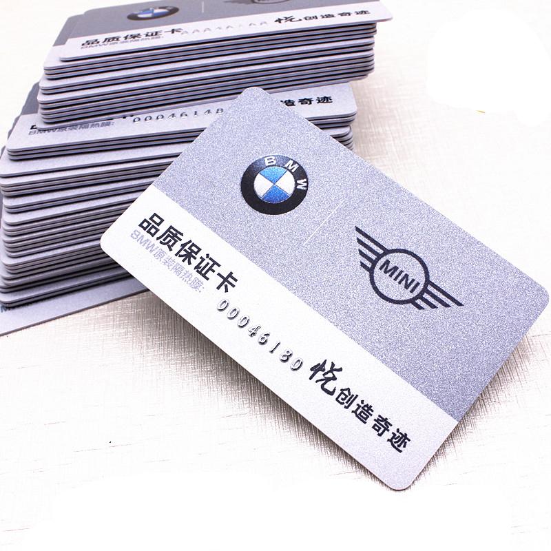 Custom Magnetic Barcode VIP Card Printing Membership Plastic Card sale