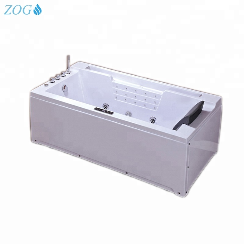 Best ass massage sexy rectangular hot spa tub with air bubble function For Sale